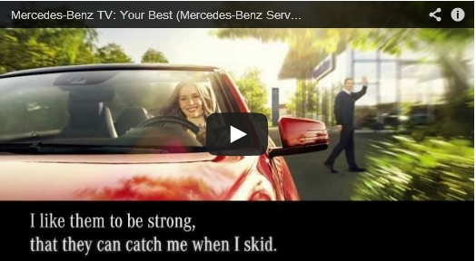 Mercedes removes weird service song video bizcom in the for Mercedes benz song lyrics