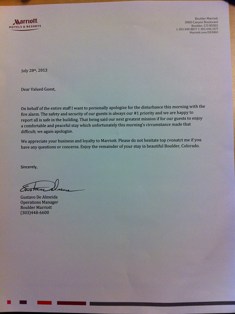 Hotel Apology Letter. 10 Letter Of Apology Awesome Apology Letter