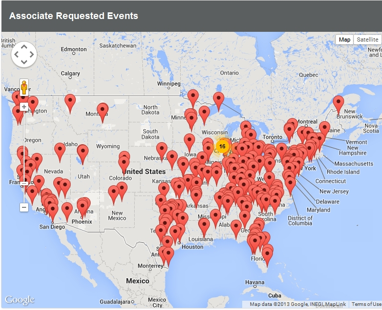 Walmart Workers Plan Strike On Black Friday BizCom In The News - Map of walmart locations in us