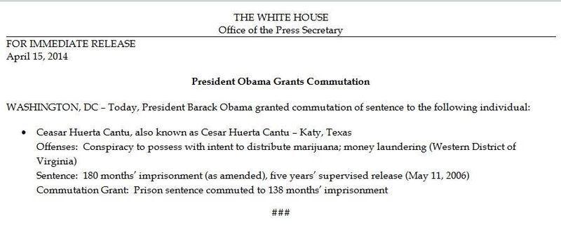 Obama Commutation